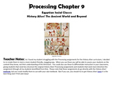 Processing 9 History Alive! The Ancient World: Egyptian So