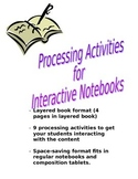 Processing Activities for Interactive Notebooks