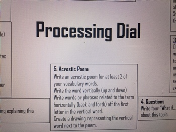 Processing Dial (Editable)