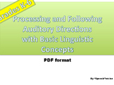 Processing & Following Auditory Directions wit Basic Linguistic Concepts-low ink