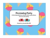 Processing Party - A Lesson to Develop Following Directions Skils
