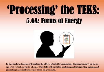 Processing the TEKS: Forms of Energy (5.6A)