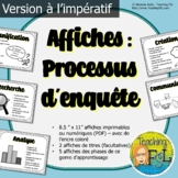 Processus d'enquête   Affiches   French Inquiry Posters  
