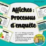 Processus d'enquête   Affiches en couleur   French Colour