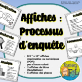 Processus d'enquête   Affiches   French Inquiry Posters (v