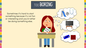 Procrastination Interactive PowerPoint–Executive Function Series