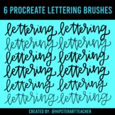 Procreate Lettering Brush Set for Ipad