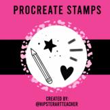 Procreate Stamp Set for Ipad