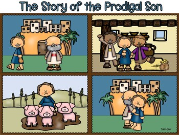 Prodigal Son activity page