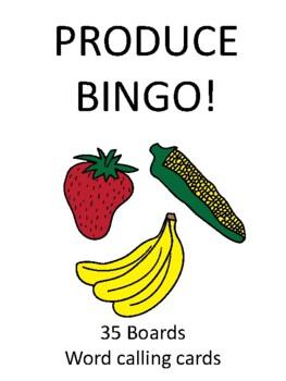 Produce BINGO!