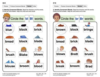 5 letter words starting with br produce consonant blends bl and br lesson 5 book 1 25964 | original 703637 3