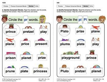 "Produce Consonant Blends ""Pl"" and ""Pr"": Lesson 1, Book 2 (Newitt Grade 1)"