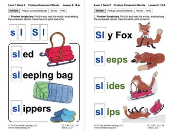 produce consonant blends sk and sl lesson 2 book 2 newitt grade 1. Black Bedroom Furniture Sets. Home Design Ideas