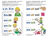 "Produce Consonant Blends ""Sm"" and ""Sn"": Lesson 3, Book 2 (Newitt Grade 1)"