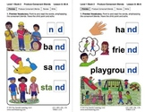"Produce Consonant Blends ""nd"" and ""ng"": Lesson 8, Book 2 (Newitt Grade 1)"