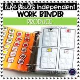 Produce Work Tasks or File Folders