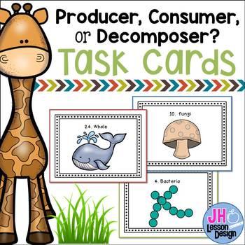 Producer Consumer Decomposer Task Cards