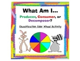 Producer, Consumer, or Decomposer? Classification Color Wheel Activity