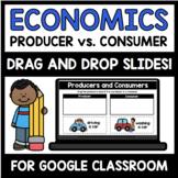 Producer and Consumer Economics Digital Interactive Sort (