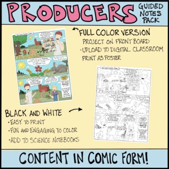 Ecosystem Interactions: Producers Comic