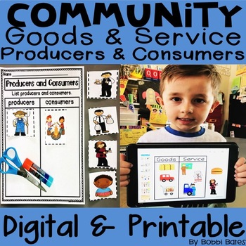 Producers, Consumers, Goods and Service