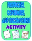 Producers, Consumers, and Decomposers Activity