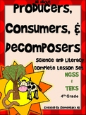 Producers, Consumers, and Decomposers:Complete Lesson Set Bundle (TEKS & NGSS)