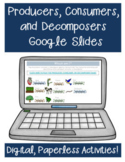Producers, Consumers, and Decomposers Google Classroom Dis