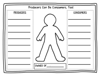Producers and Consumers Activity