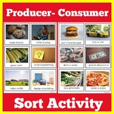 Producers and Consumers   Kindergarten 1st 2nd 3rd Grade  