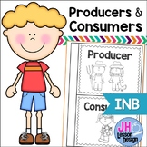 Producers and Consumers Interactive Notebook Activity