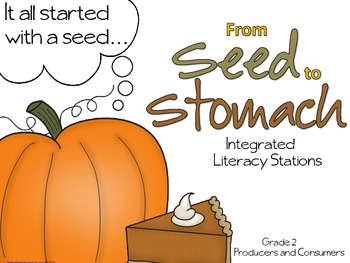 Literacy Stations: Producers and Consumers Project