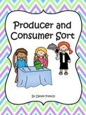 Producers and Consumers Sort (Social Studies - Economics)