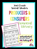 Producers and Consumers Worksheet- 2nd Grade Social Studies/Financial Literacy