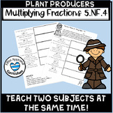 5.NF.4 Multiplying Fractions Plant Producers and Consumers Activity