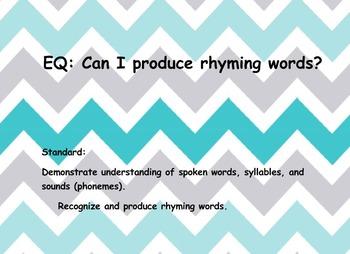 Producing Rhymes