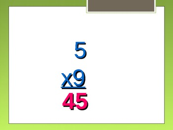 Product 36 Basic Multiplication Facts Power Point