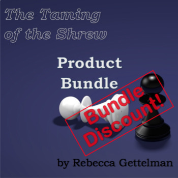 Product Bundle for The Taming of the Shrew by William Shakespeare