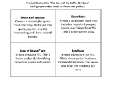 """Product Choices for """"The Cat and the Coffee Drinkers"""""""