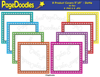Product Covers for TPT Sellers, Dottie - High Quality Vector Graphics