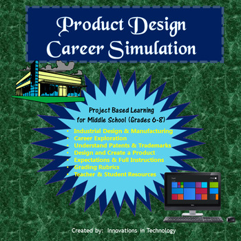 Product Designer / Industrial Designer Career Simulation (