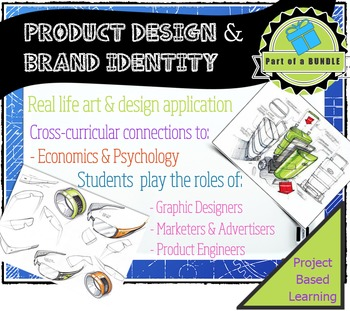Product Development & Brand Identity: Be graphic designers & Product Engineers!