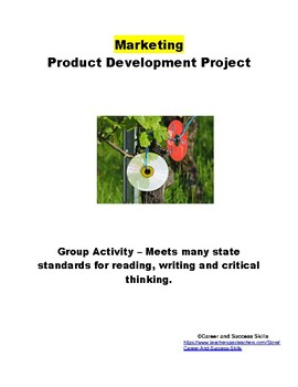 Product Development Project for Marketing Class