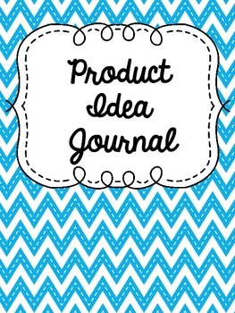 Product Idea Journal