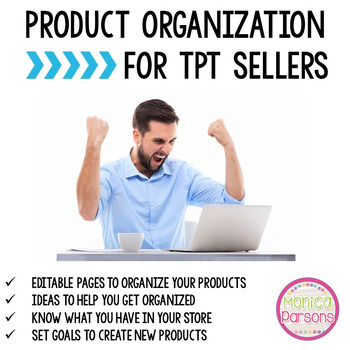 Product Organization for TpT Sellers