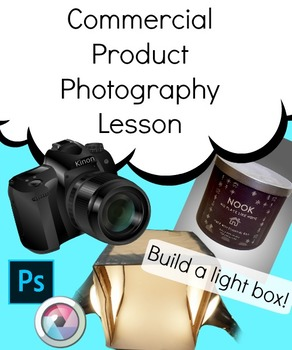 Product Photography Lesson Visual Art Graphic Design STEM Light Box Photoshop