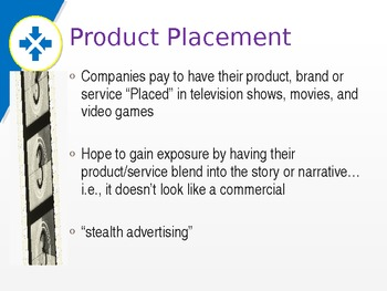 Product Placement PowerPoint