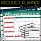 Product Planner Calendar for TpT Sellers