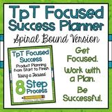 TpT Seller Product Planner Spiral Bound
