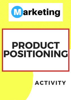 Product Positioning Marketing Activity